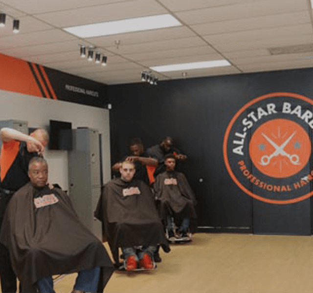 the all-star barbers